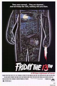 Friday the 13th (1980 film) poster