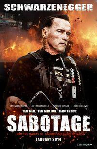 Sabotage (2014) poster