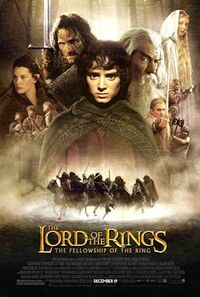 The Lord of the Rings The Fellowship of the Ring poster