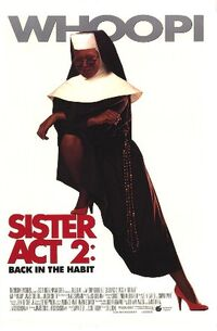 Sister Act 2 Back in the Habit poster