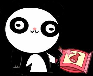 File:Transparent Panda Bear.png