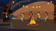 Drumheller campfire ceremony