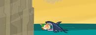 Owen eaten by a shark Shark Bait