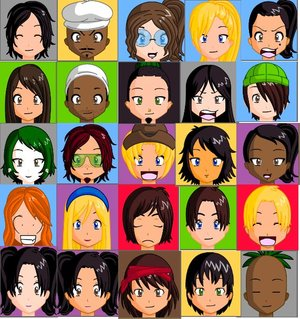File:Total Drama Island Anime Heads by lambcaey.jpg