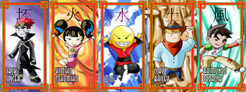 Xiaolin ShowDown Cards by shongcredible