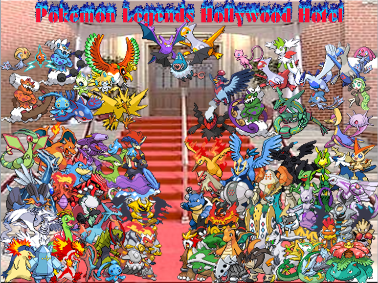 Tellyzx S Pokemon Legends Hollywood Hotel Season 4 Total Pokemon Island Wiki Fandom Powered