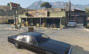 Harmony gas station shootout