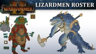 Total War WARHAMMER 2 - Lizardmen Roster Reveal