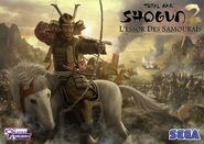 Rise of the Samurai French wallpaper