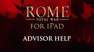 ROME Total War™ for iPad – How to triumph (Advisor Help)