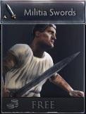 Militia swords twa