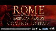 ROME Total War - Barbarian Invasion for iPad - Gameplay trailer