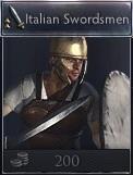 Italian swordsmen twa