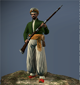 Beylik Janissary Musketeers NTW