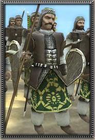 Dismounted Sipahi Lancers