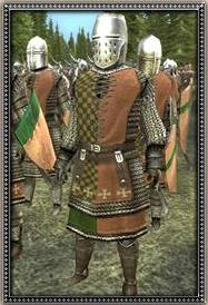 Hungarian Dismounted Feudal Knights