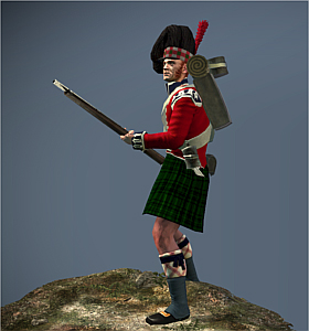42nd Foot The Black Watch (Peninsular Campaign)