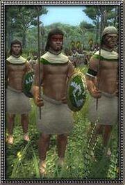 Mayan Javelinmen