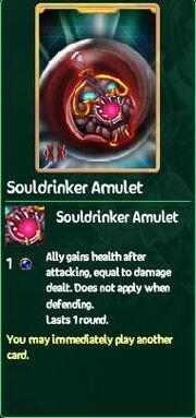 Souldrinker Amulet