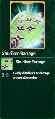 Shuriken Barrage