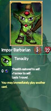 Impor barbarian