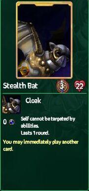 Stealth Bat