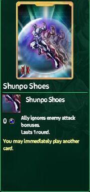 Shunpo Shoes