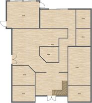 Floorplan groundfloor