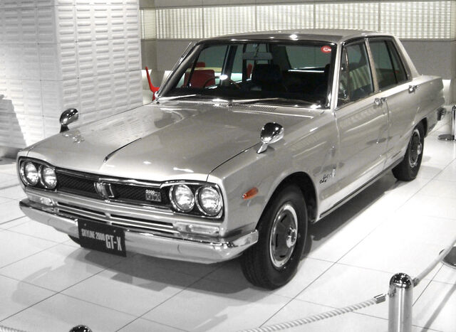 File:1972 Nissan Skyline GT-X Sedan.jpg
