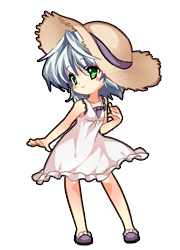 Koishi White One-piece