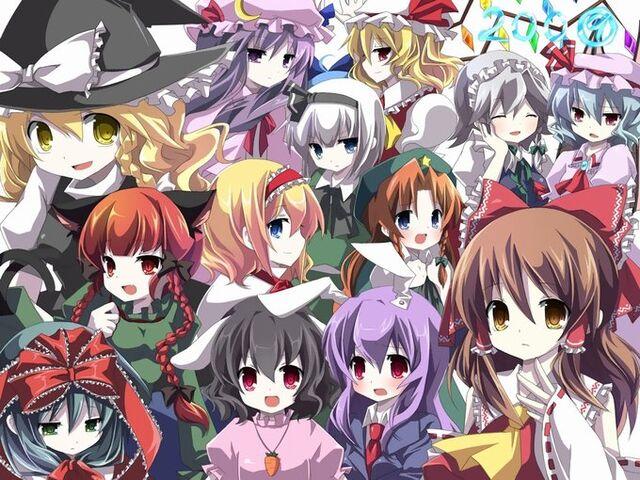 File:Touhou mass character Wallpaper 8e5m.jpg