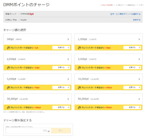 Purchasing DMM Points-04