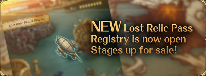 Lost Relic Pass Registry