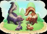 Skunk Family