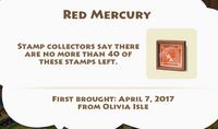 Red Mercury Artifact