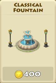 Classical fountain