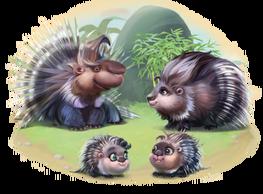 Porcupine Family