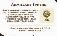 Armillary Sphere Artifact