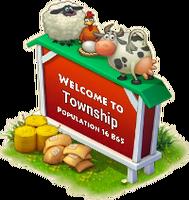 Home Sweet Farm Town Sign