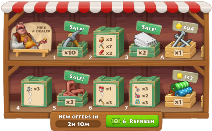 City Market All Sale Crates