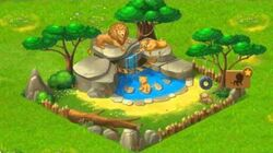 Township Zoo - Lion-family