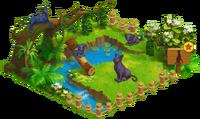 Black Panther Enclosure