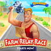 Farm Relay Race Event Icon