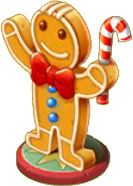 Gingerbread Statue