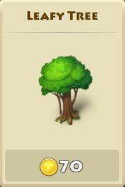 Leafy tree2