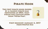 Pirate Hook Artifact