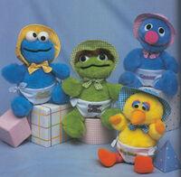 Sesame Street Toddler dolls