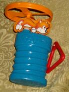 Sonic 3 Tails Happy Meal toy