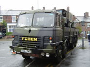 Foden Military spec truck