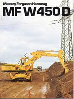 MF W 450 D wheeled excavator